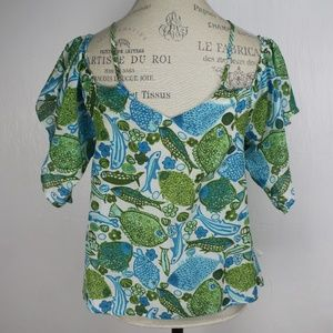 Anthropologie Tops - Anthropologie Blouse Vanessa Virginia Puget Sounds